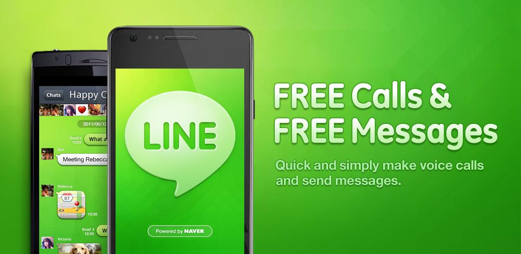 Free Download Line for Android (Aplikasi Telepon dan SMS gratis1024