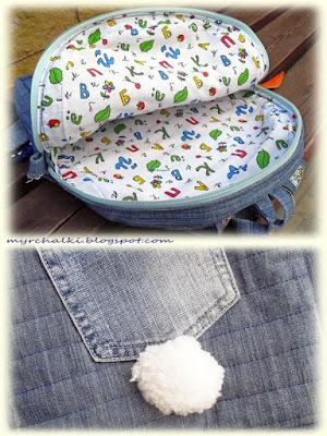 рюкзак для детей своими руками