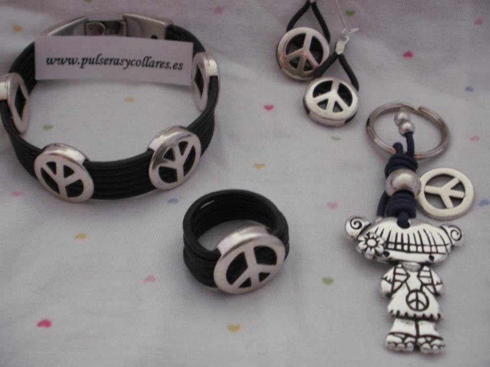 paz mundial, dia de la paz,pulseras y collares,viva la paz, regalo hippie
