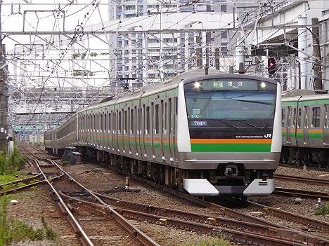 普通 東京行き E233系