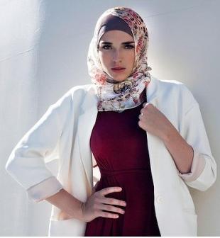 Cara Memakai Jilbab Sesuai Bentuk Wajah