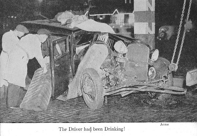 Car crash 1940's