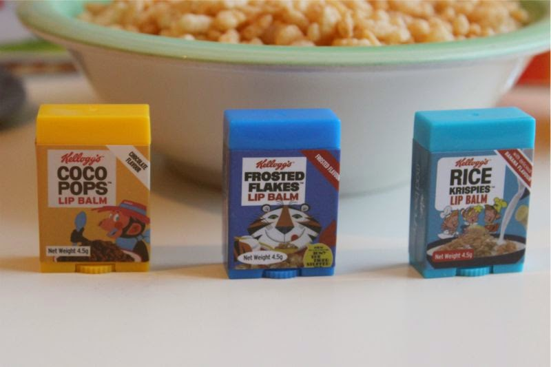 Kellogg's Cereal Lip Balms