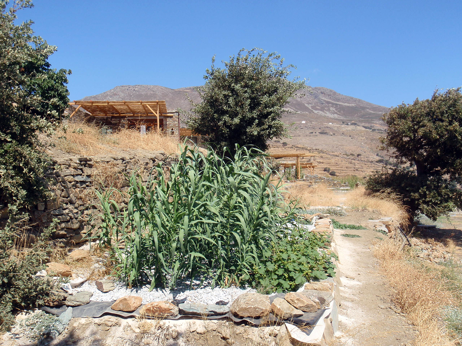 Tinos eco lodge: Off Grid Systems