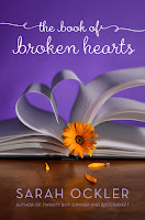 book cover of The Book of Broken Hearts by Sarah Ockler
