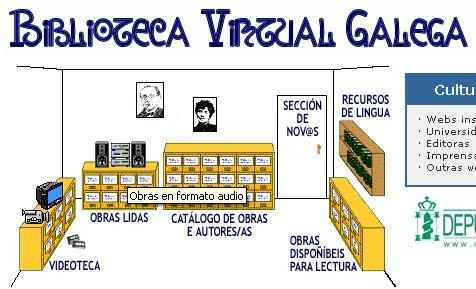 Biblioteca virtual galega