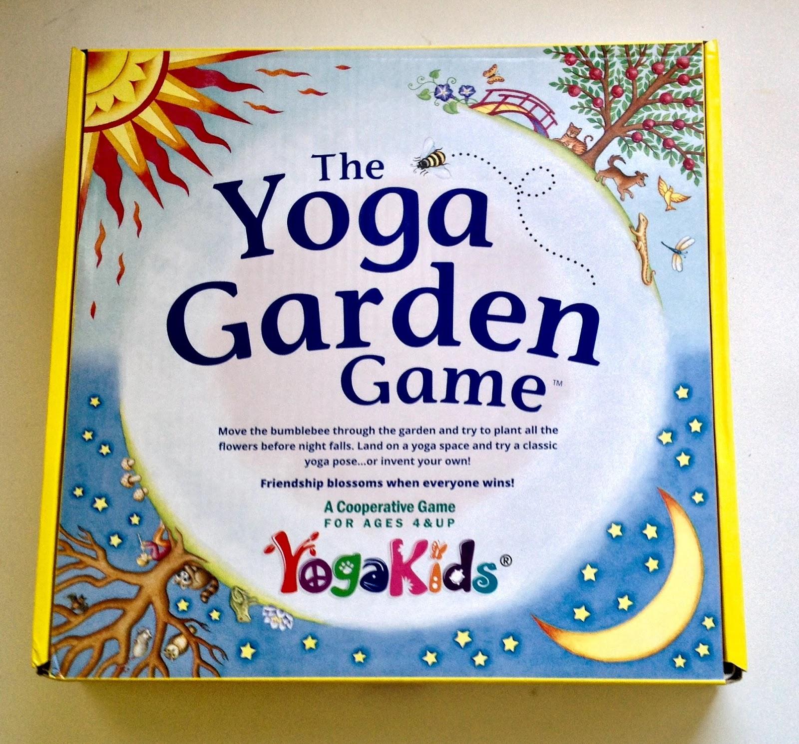 The Yoga Garden Game For Kids