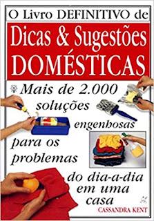 O livro definitivo de dicas e sugestões domésticas, de Cassandra Ken