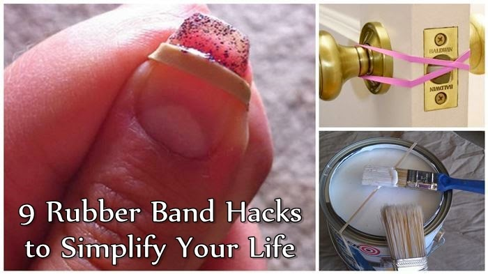 9 Rubber Band Hacks to Simplify Your Life