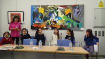 Inauguración de la exposición Tetuán-Guernica-Vallecas