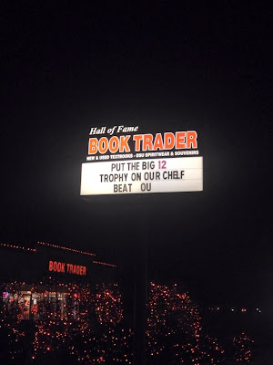 Stillwater, Ok. bookstore wants Oklahoma St. to put the Big 12 title on it's Chelf.