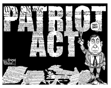 Patriot act essay