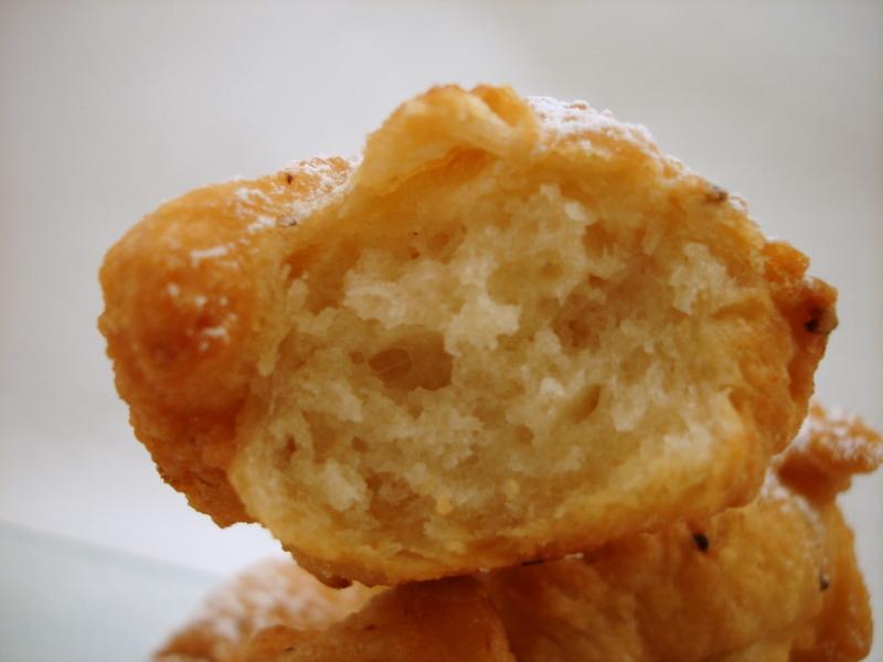 Aux d lices des gourmets pettole beignets de pommes de terre a l 39 italienne - Pate a beignet avec levure de boulanger ...