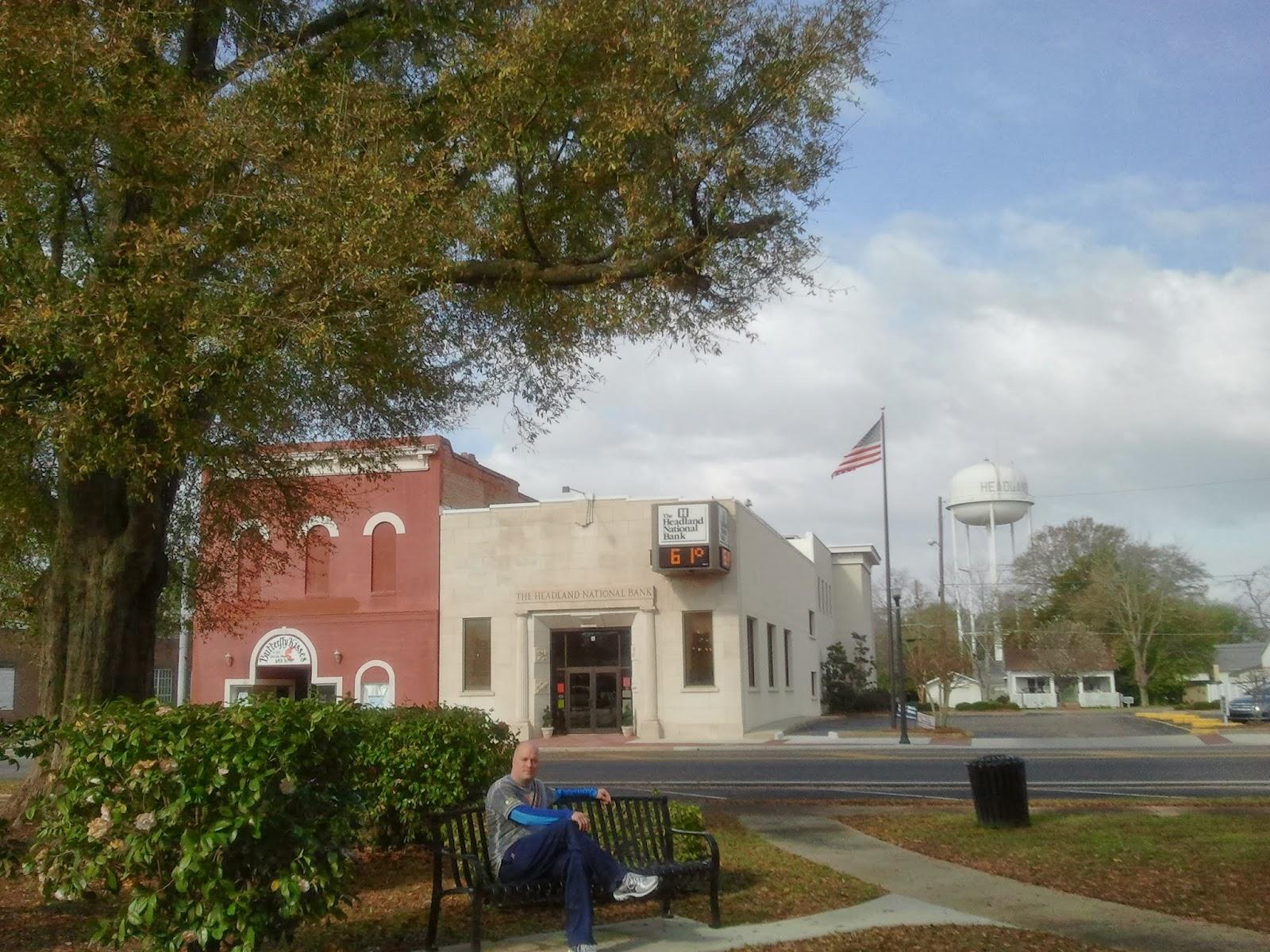 Headland, Alabama Town Square