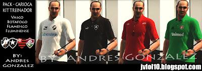 Kits+de+Treinamento+do+Vasco,+Botafogo,+Flamengo+e+Fluminense+para+Football+Life+para+PES+2012 PES 2012: Kit Pack Treinadores Carioca