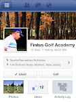 J O I N The Fintus Golf Academy on Facebook