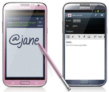 La versione pink del phablet di seconda generazione di Samsung è in arrivo