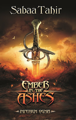 """Sabaa Tahir """"Ember in the Ashes. Imperium ognia"""""""
