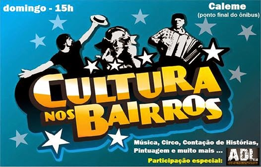 Cultura nos Bairros de Teresópolis vai ao Caleme neste fim de semana