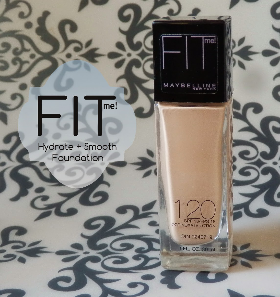 Fit Me Hydrate + Smooth Foundation