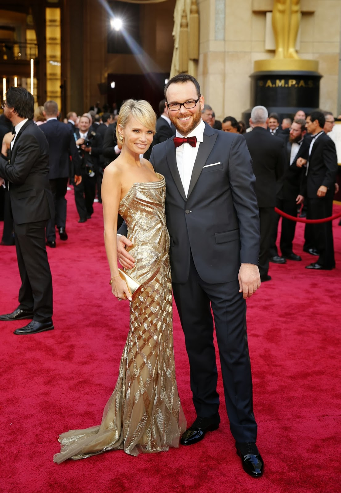 Nuevas fotos ineditas de Dana Brunetti en 86th Academy Awards in