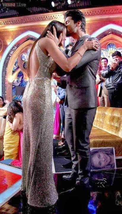 Gauhar Khan and Kushal Tandon in Bigg Boss 7