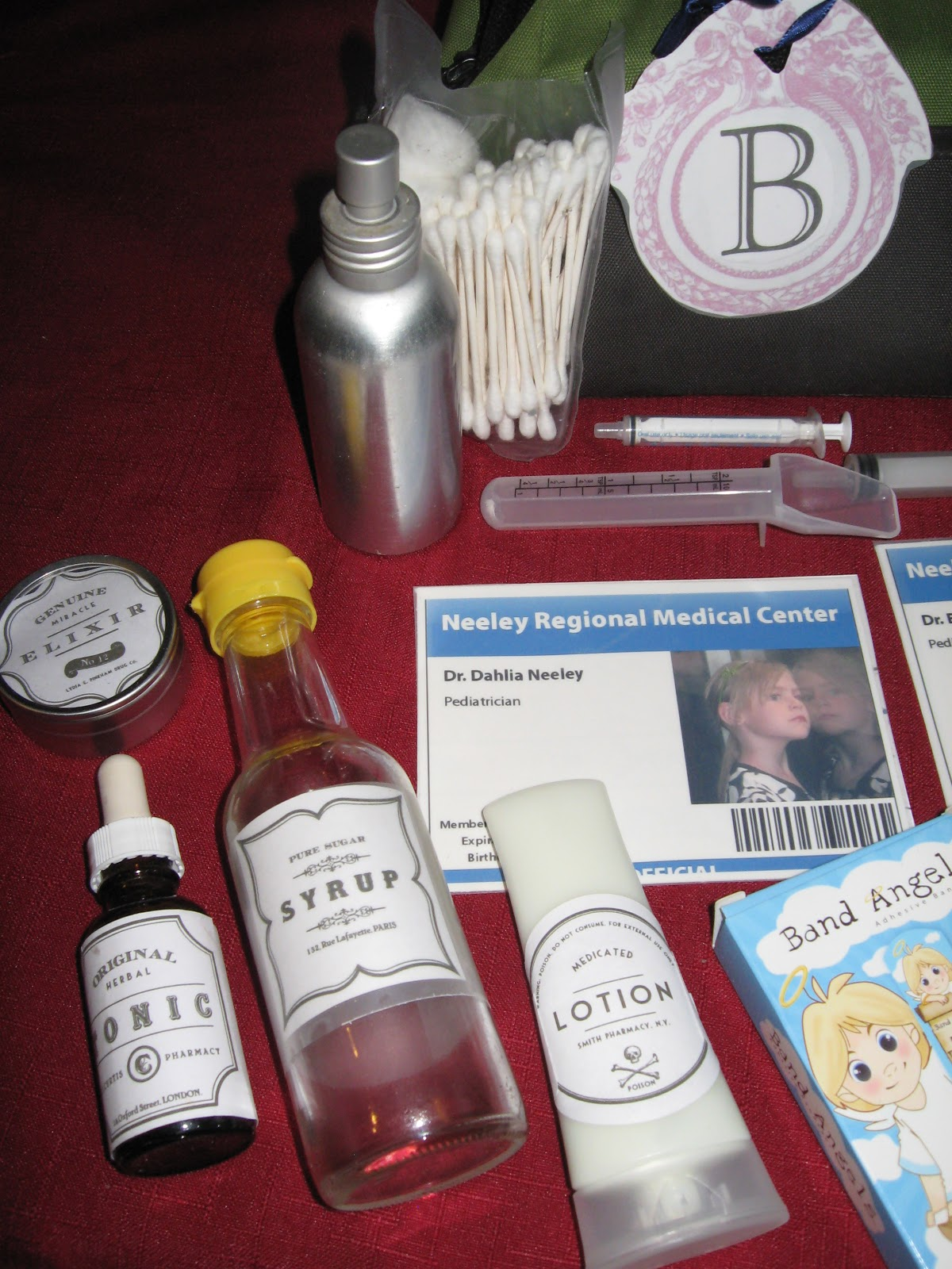 diy handmade doctor play kit tutorial great kids gift