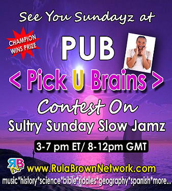 Pick U Brains (PUB) Contest