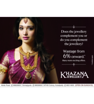 Actress Tammanna in Khazana Ad