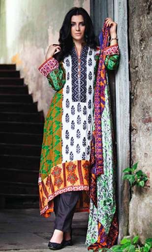 Shariq Shawls Feminine collection 2014