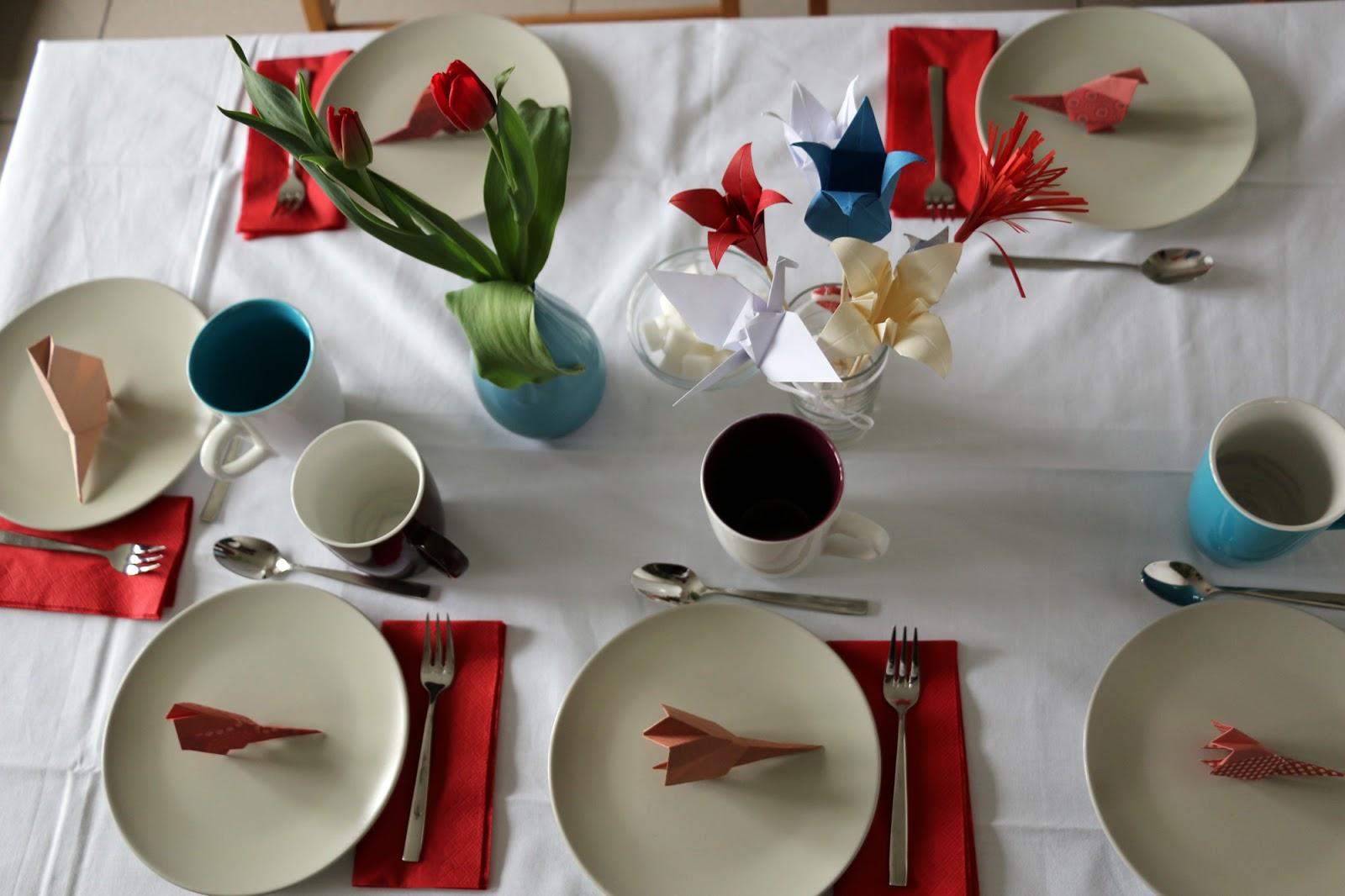 origami tischdeko my blog. Black Bedroom Furniture Sets. Home Design Ideas