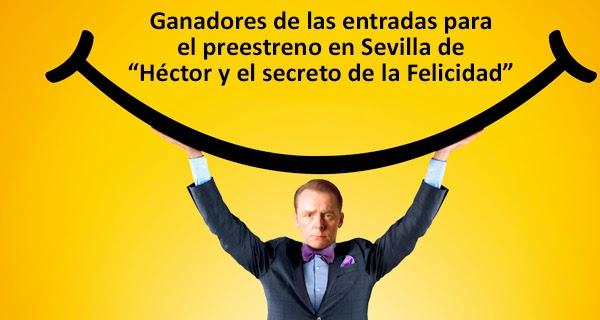 """Ganadores preestreno """"Héctor y el secreto de la felicidad"""""""