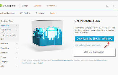 Download android sdk