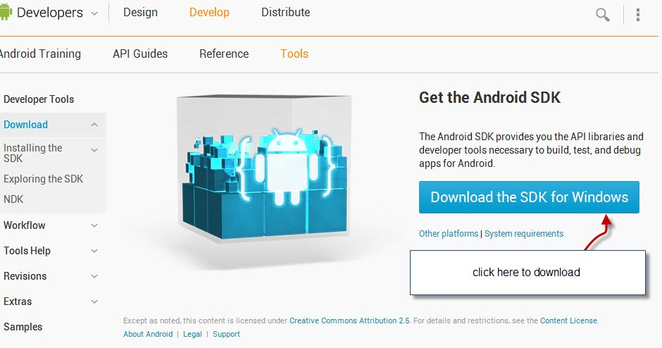 Download link to android SDK WITH Eclipse - Stack Overflow