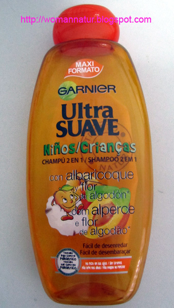 champu ultrasuave para niños Garnier 2 en 1