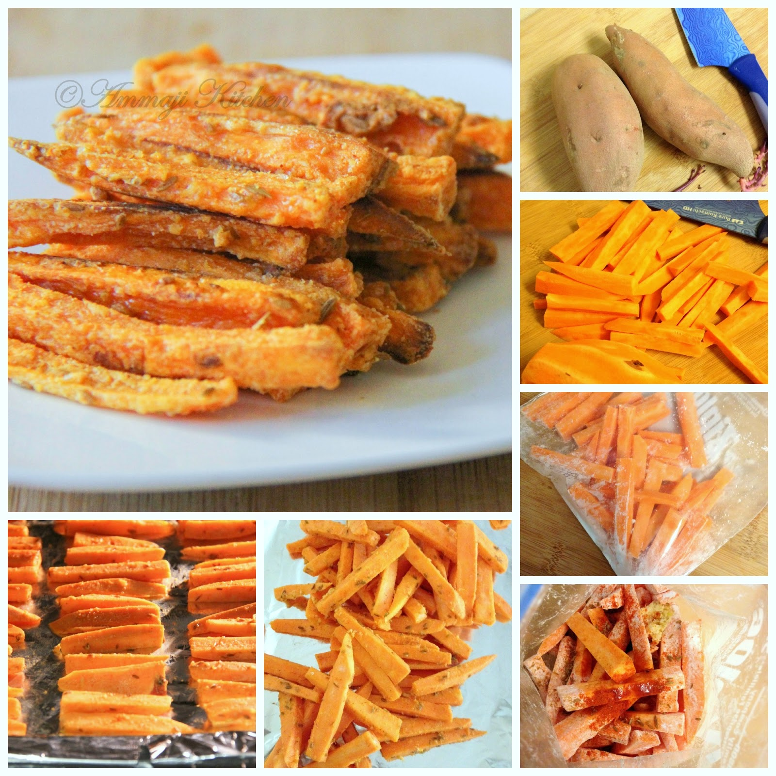 how to cook sweet potatoes in oven without aluminum foil