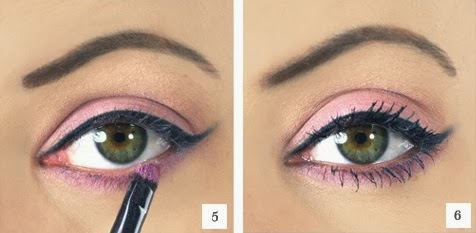 Pink Eyeshadow with Cat Eye Tutorial