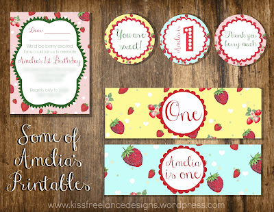 Custom Designed Invitations and Printables - KISS Freelance Designs