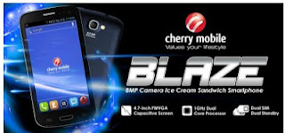 Cherry Mobile Blaze Specifications, Price and Features