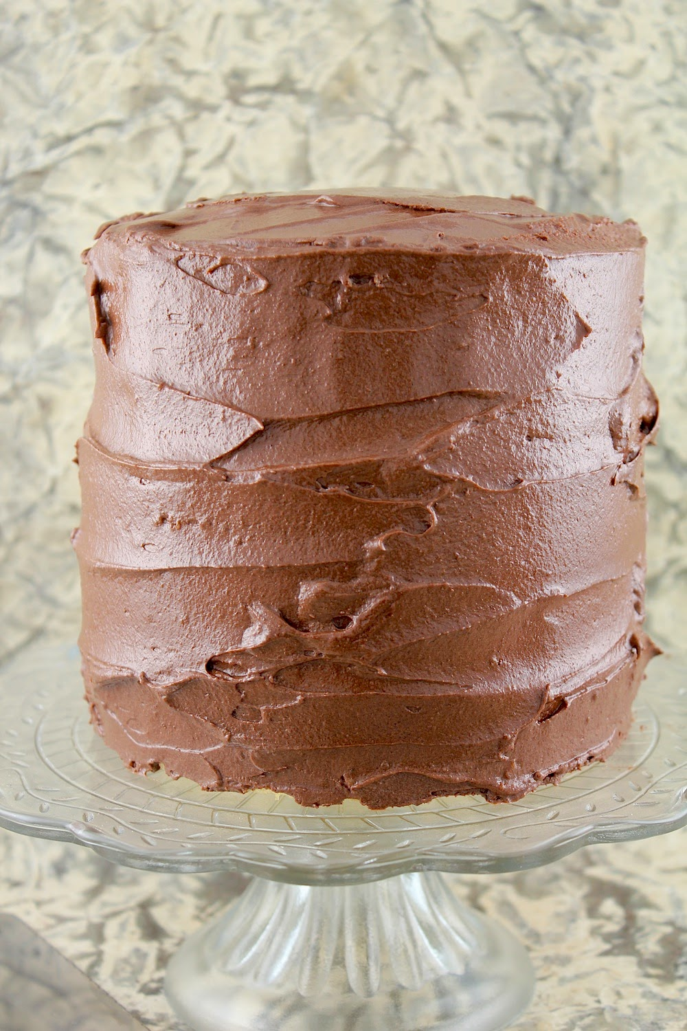 ... feast: Golden Vanilla Layer Cake with Chocolate Mocha Frosting