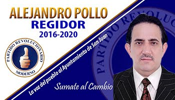 ALEJANDRO POLLO REGIDOR, 2016-2020 PRM