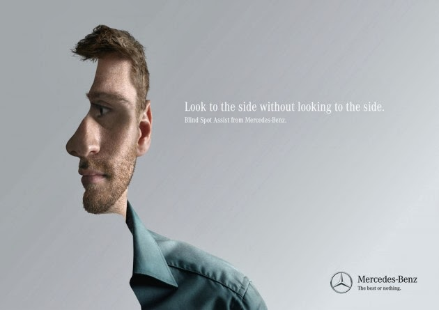 Mind-Blowing Mercedes-Benz Print Ads