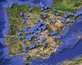 Mapa de Lugares de pesca