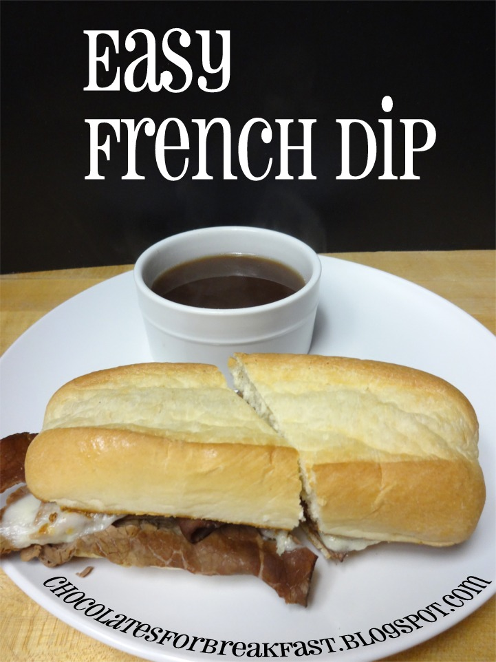 ... and other Sweet Somethings: Easy French Dip Sandwiches - MMMmmm Monday