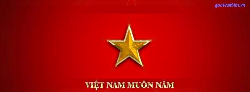 avatar cờ đỏ sao vàng