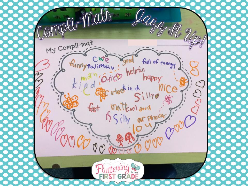 Fluttering through first grade compli mats helping kids see the