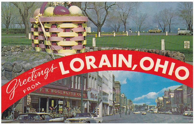 Bradys lorain county nostalgia greetings from lorain postcards greetings from lorain postcards m4hsunfo
