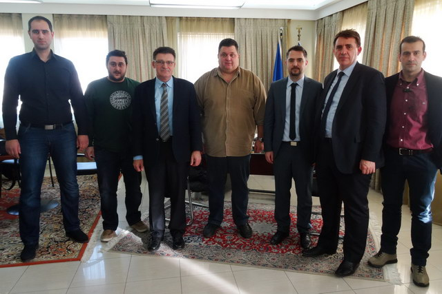 Συνάντηση Πέτροβιτς με το Δ.Σ. του Σ.Β.Β.Ε. Έβρου