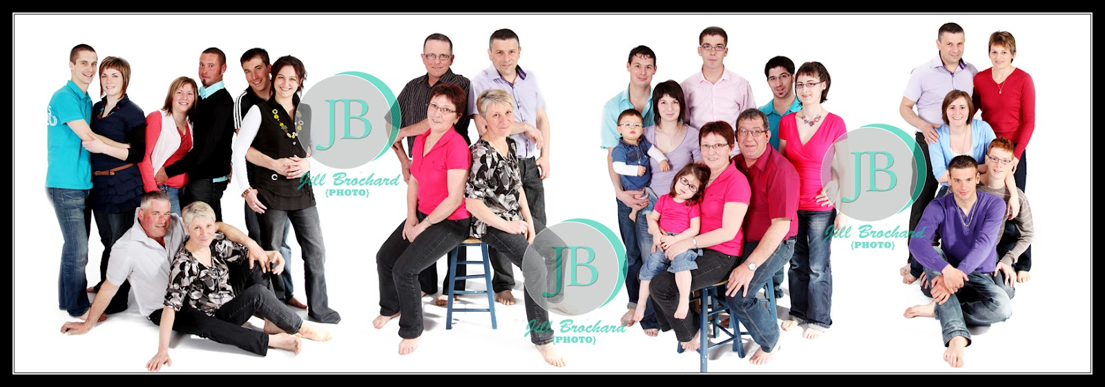 Photo de famille envoyée