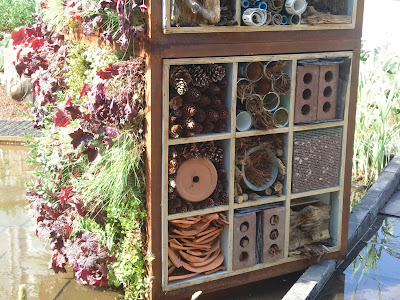 Bug hotel from Chelsea Flower Show